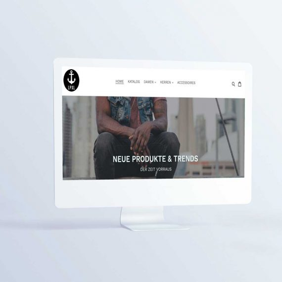 liebespixel-agentur-kirchheim-lpxl-web-shop-Website-Mockup-imac