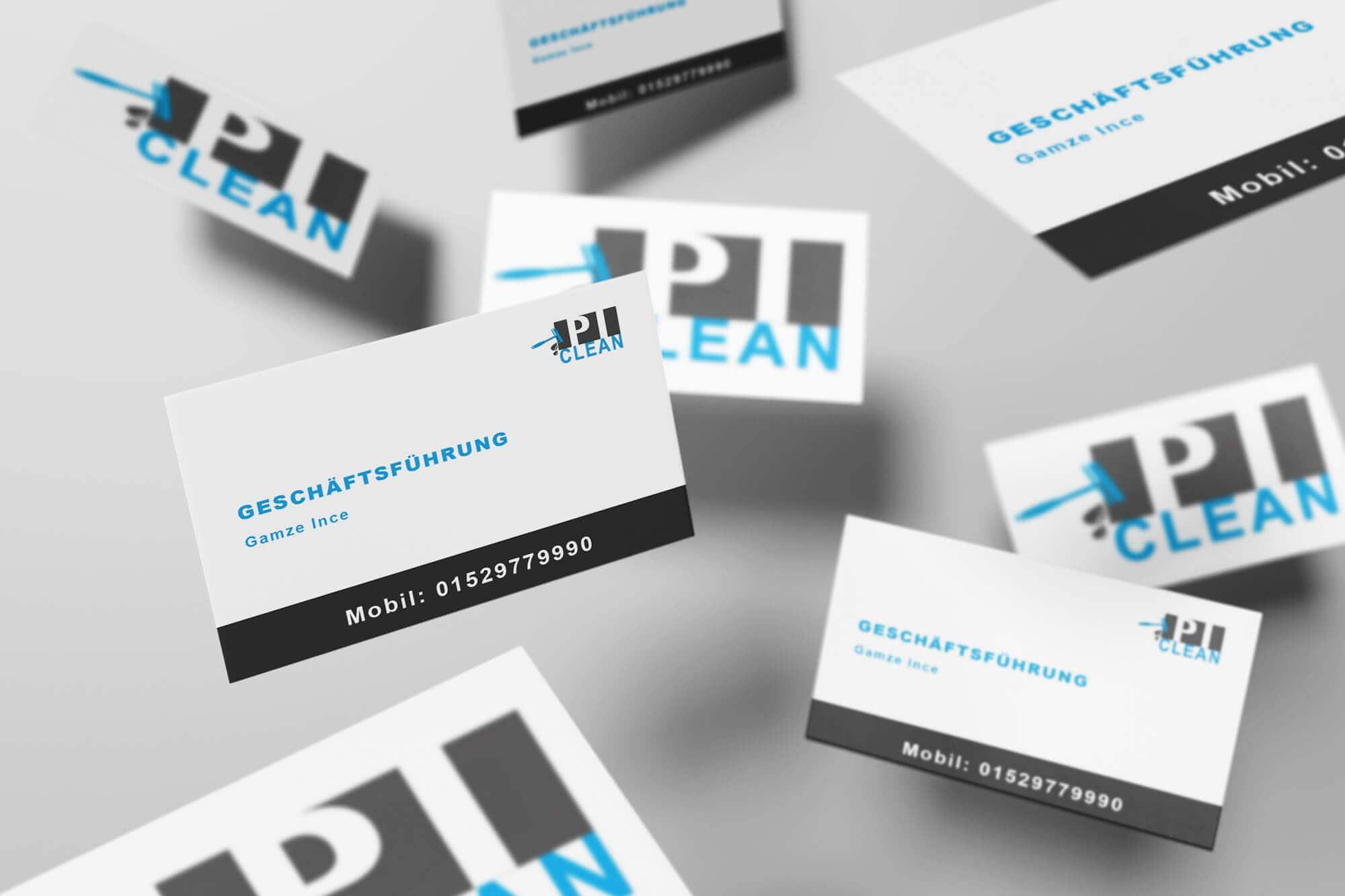 pi-clean-visitenkarten-kirchheim-teck-putzen-unternehmens-reinigung-qualitaet-liebespixel-logo